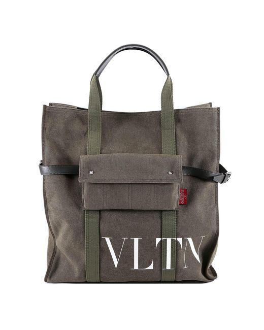 Valentino - Green Vltn Tote - Lyst
