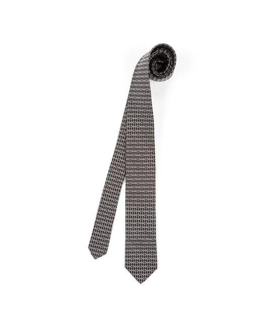 Dolce & Gabbana - Gray Silk Print Tie for Men - Lyst