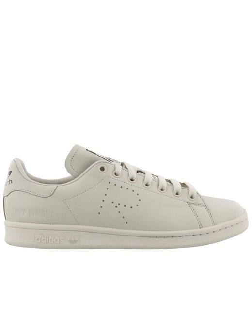 Adidas By Raf Simons - Natural Stan Smith Sneakers - Lyst