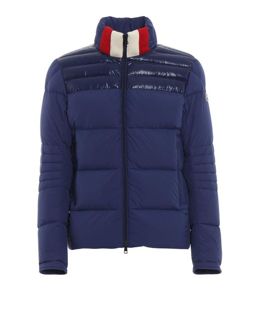 52c31fd37 Moncler Bassias Padded Jacket in Blue for Men - Lyst