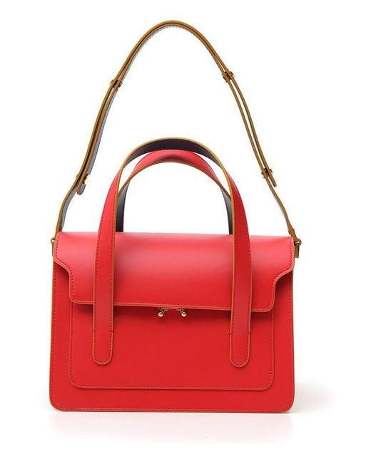Marni - Red Trunk Bag - Lyst