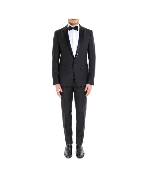 DSquared² - Black Sequinned Two Piece Suit for Men - Lyst