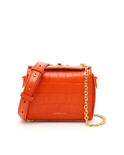 Alexander McQueen - Orange Box 19 Bag - Lyst
