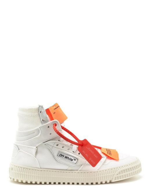 dbc831397120f7 Off-White c/o Virgil Abloh Off-court Lace-up Sneakers in White ...