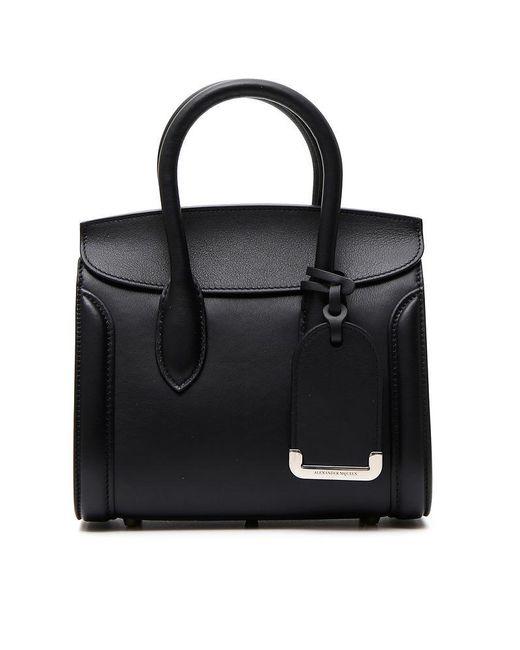 Alexander McQueen - Black Heroine Bag - Lyst