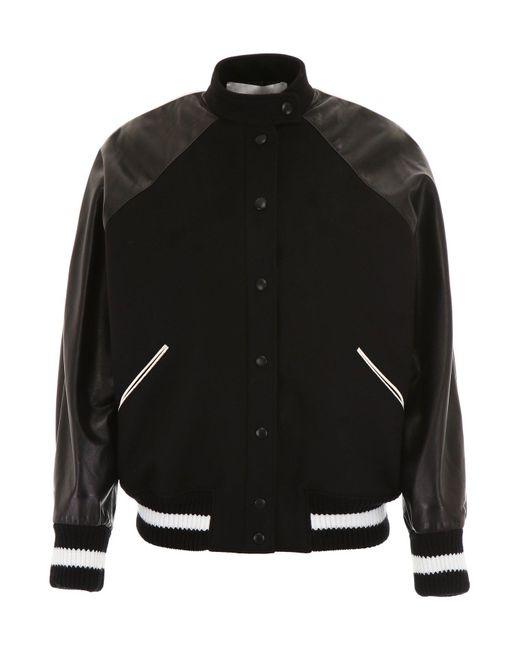 Valentino - Black Vltn Bomber Jacket - Lyst