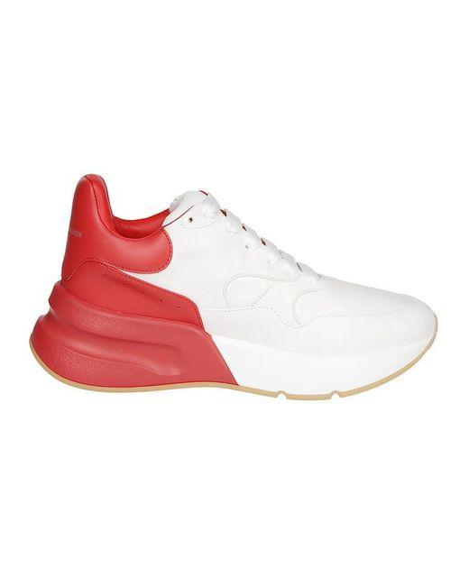 Alexander McQueen - Red Oversized Runner - Lyst