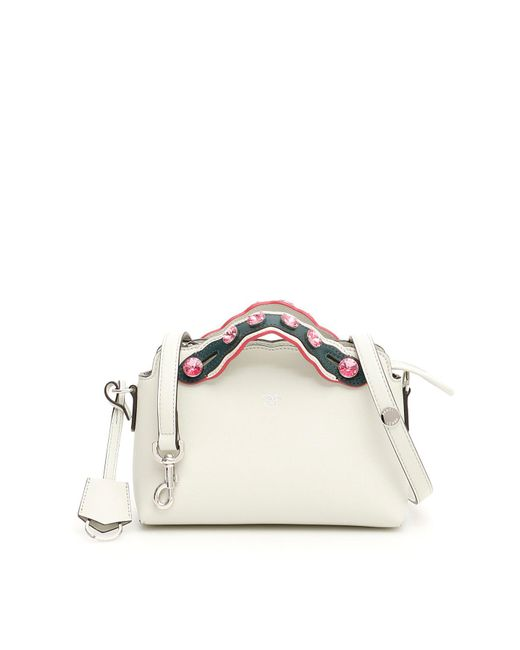 Fendi - White By The Way Embellished Tote Bag - Lyst