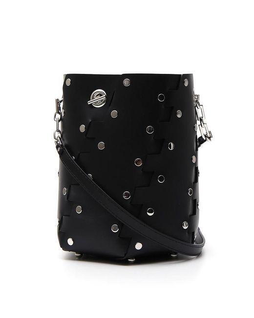 Proenza Schouler - Black Mini Hex Bucket Bag - Lyst