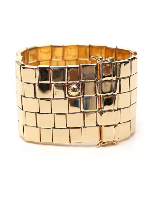 Chloé - Metallic Cuff Bracelet - Lyst