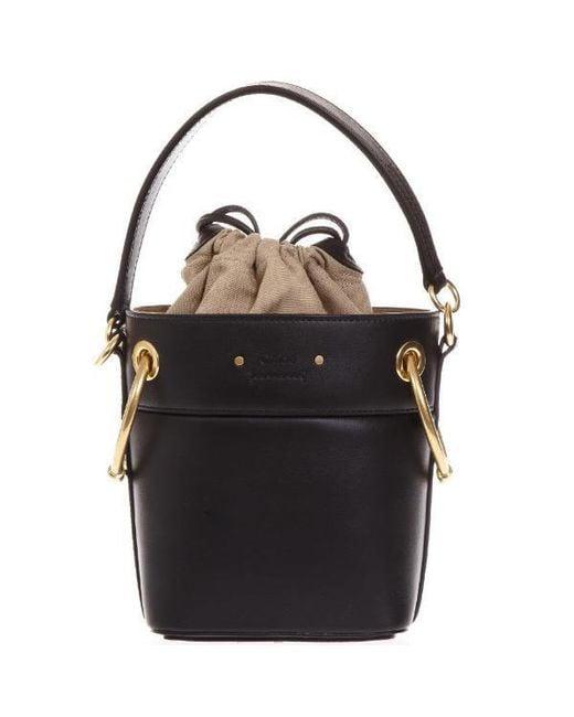 Chloé - Black Side Hardware Duffle Bag - Lyst
