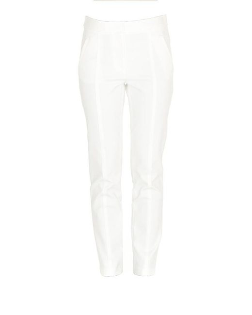 Tory Burch - White Vanner Trousers - Lyst