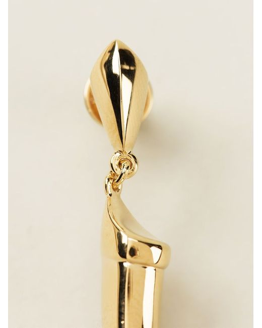 Shaun Leane | Metallic Knife Edge Tusk Earrings | Lyst