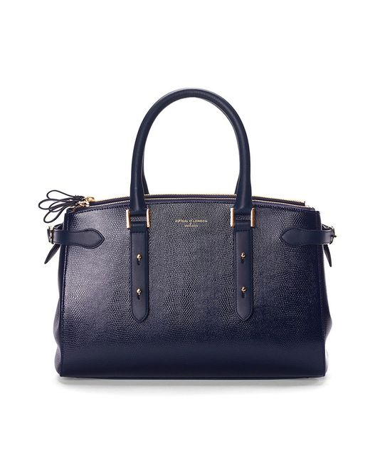 Aspinal | Blue Brook Street Bag | Lyst