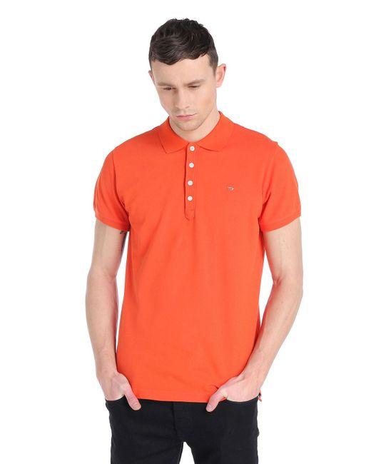 DIESEL | Orange T-yahei for Men | Lyst