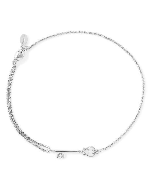 ALEX AND ANI | Metallic Precious Metals Symbolic Skeleton Key Pull Chain Bracelet | Lyst