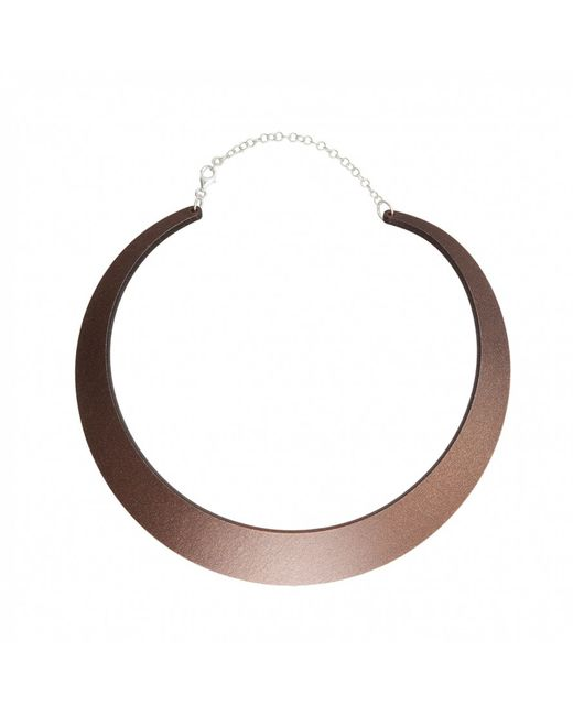 Cooee | Purple Earth Small Necklace | Lyst
