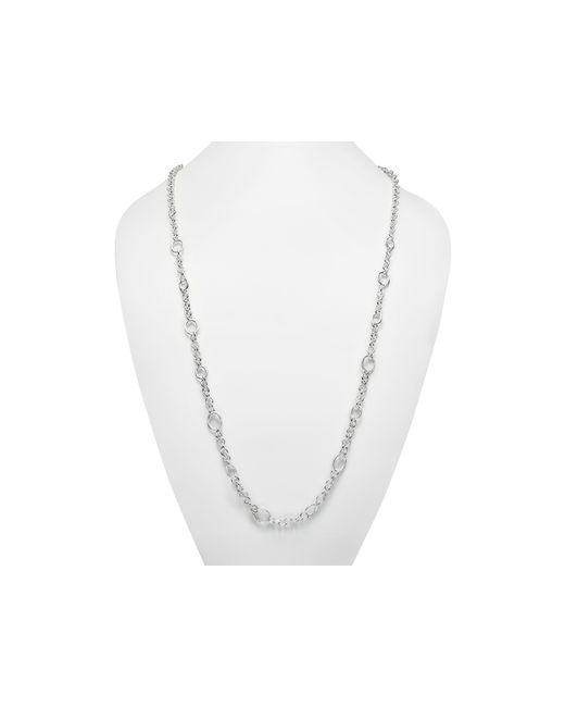 "Ippolita | Metallic Sterling Silver Glamazon Link Necklace, 40"" | Lyst"