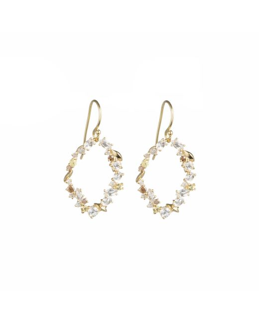 Alexis Bittar | Metallic Golden Ice Marquis Oval Drop Earring In 18k Gold You Might Also Like | Lyst