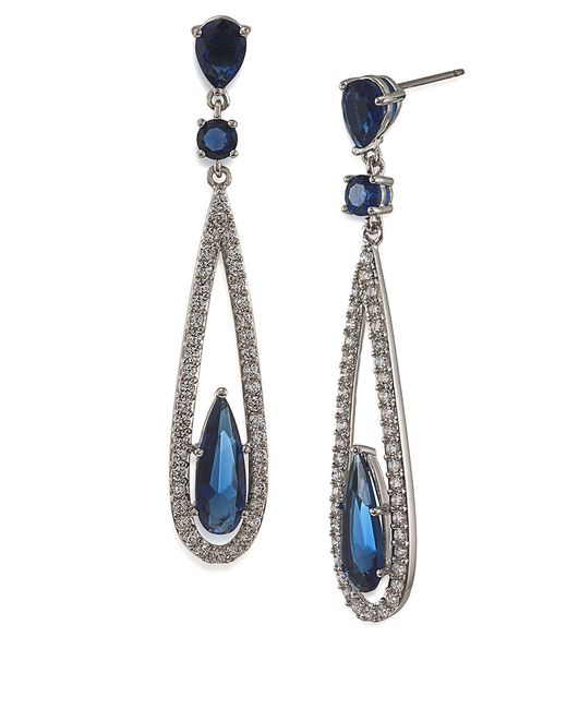 Carolee | Metallic The Looking Glass Recolor Linear Drop Earrings | Lyst
