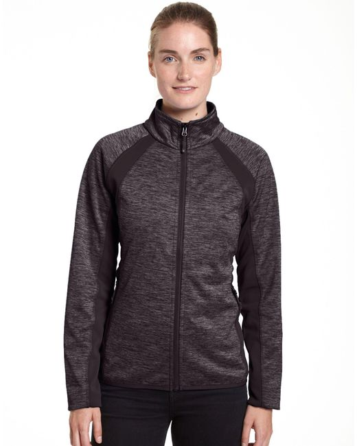 Champion - Multicolor Plus Bonded Sport Knit Soft Shell Jacket - Lyst