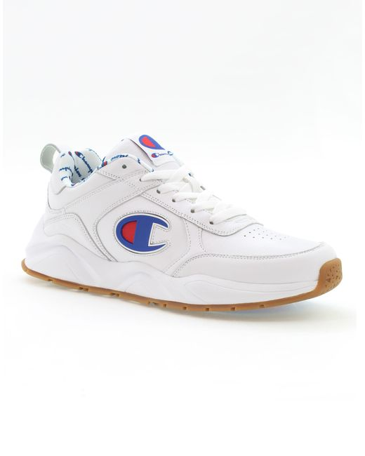 Champion - White 93eighteen Big C Sneakers for Men - Lyst