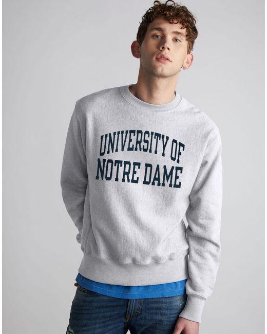Dame Sweatshirt Reverse Weave® Gray Life® Fighting Men's Notre Ncaa Irish gvfbymIY76