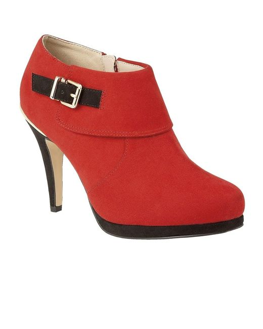 Lotus | Red Vollmer Womens High Cut Court Shoes | Lyst