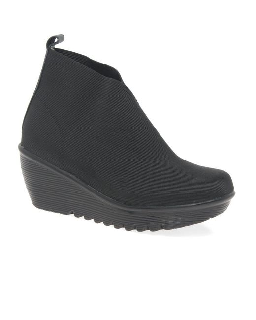 Bernie Mev | Black Maile Womens Casual Ankle Boots | Lyst