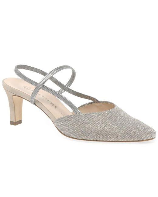 sale retailer 25a83 8e86c Mitty Womens Slingback Shoes