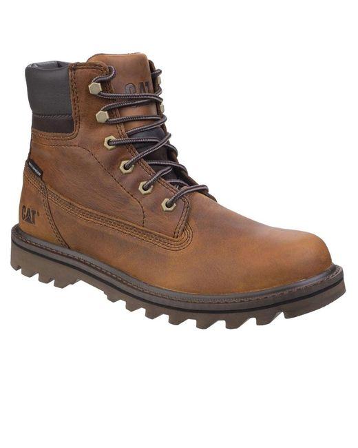 Caterpillar - Brown Deplete Waterproof Mens Lace-up Boot for Men - Lyst