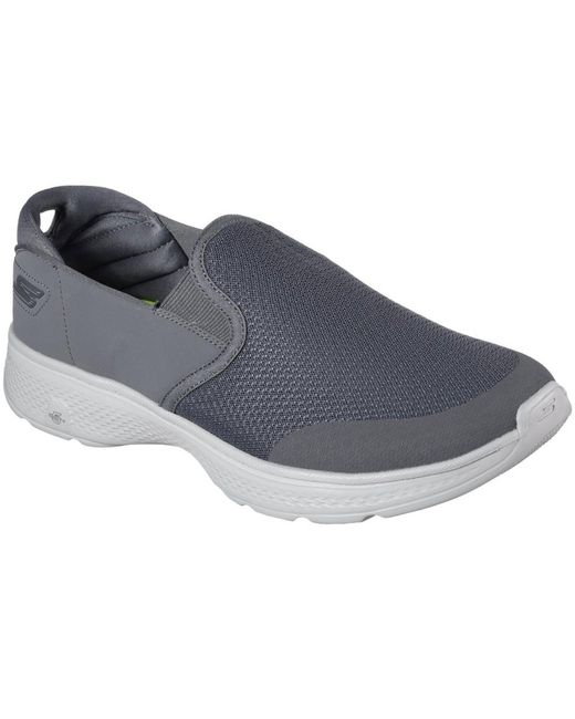 Skechers - Gray Gowalk 4 Contain Mens Slip-on Trainer for Men - Lyst