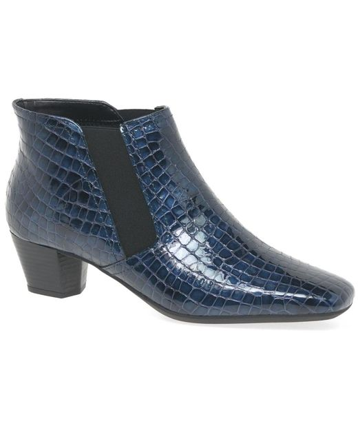 Charles Clinkard | Blue Handson Womens Ankle Boots | Lyst