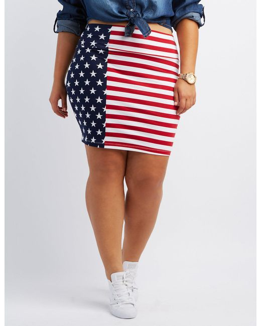 c853b4c1e23a4 American Flag Skirt Charlotte Russe - Best Picture Of Flag Imagesco.Org