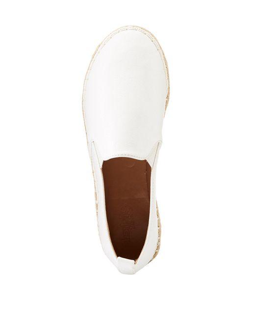 Charlotte Russe - White Espadrille Slip-on Sneakers - Lyst