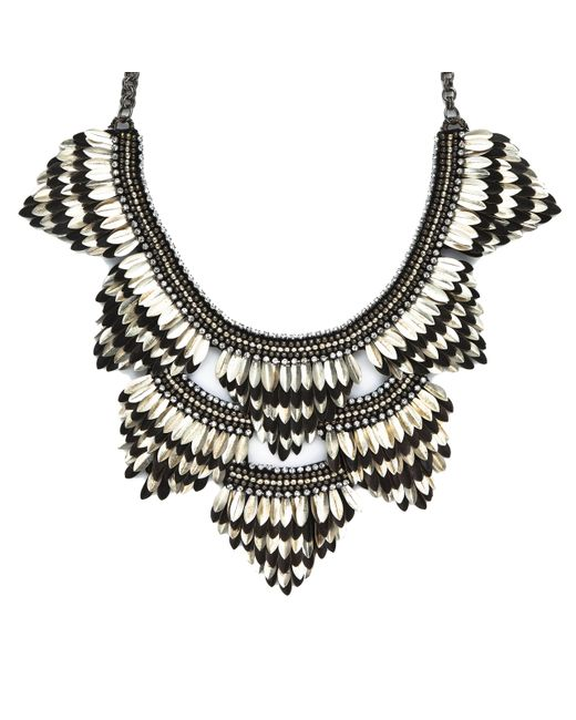 Deepa Gurnani | Black Necklace | Lyst