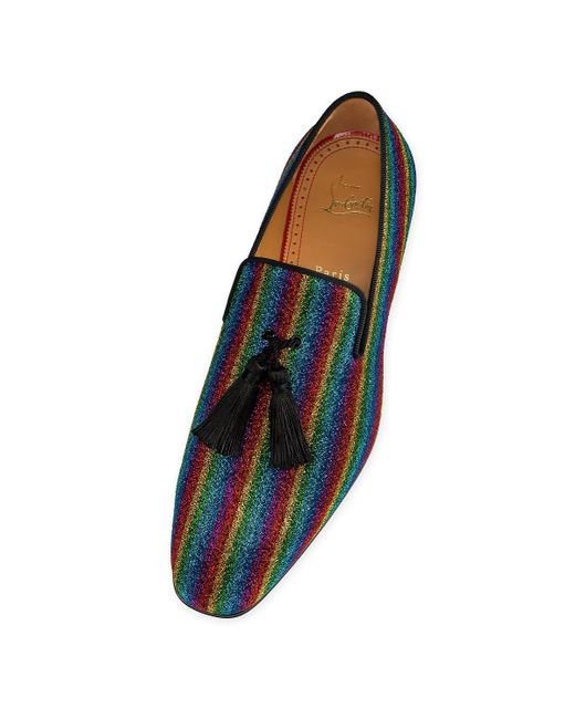 7ff5e62f848 Christian Louboutin Officialito Flat for Men - Lyst