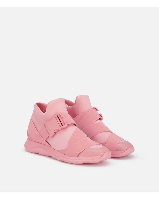 Christopher Kane | Pink Safety Buckle Sneakers | Lyst