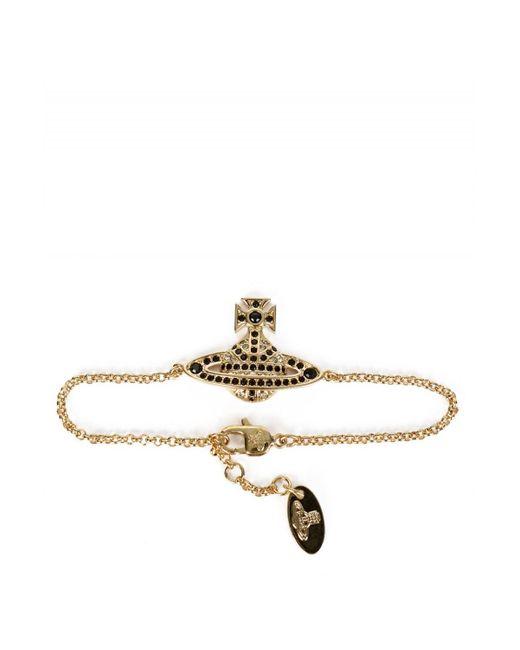 Vivienne Westwood - Metallic Jack Bas Relief Bracelet - Lyst