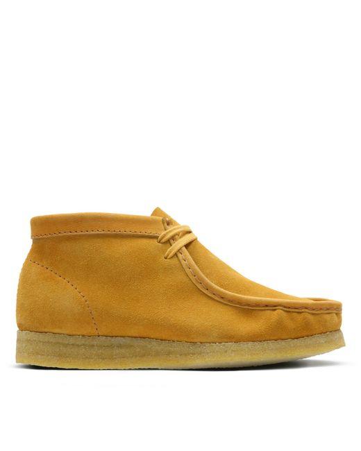 Clarks - Orange Wallabee Boot for Men - Lyst