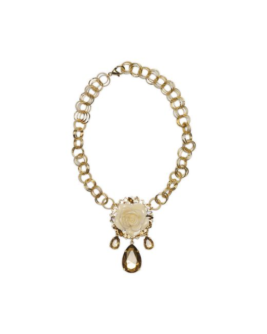 Erickson Beamon | Metallic Necklace | Lyst