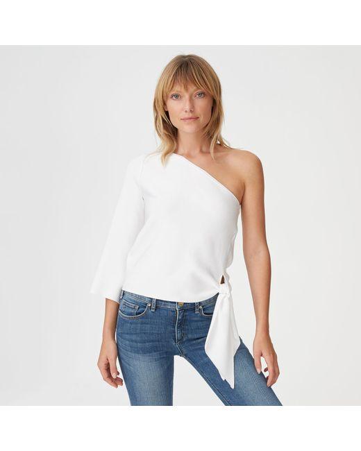 Club Monaco - White Valeria Sweater - Lyst