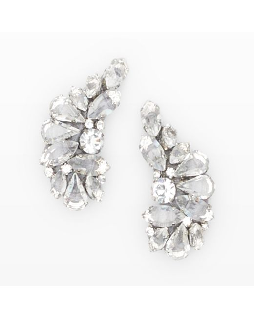 Club Monaco | Gray Radà Crystal Earrings | Lyst