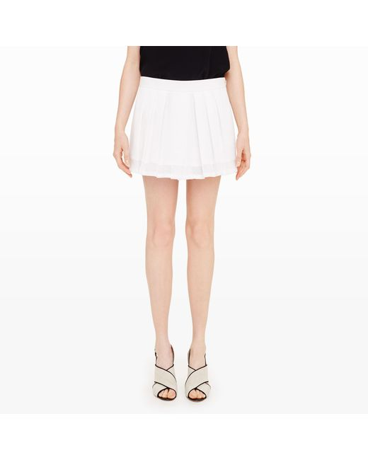 Club Monaco | White Aren Skort | Lyst