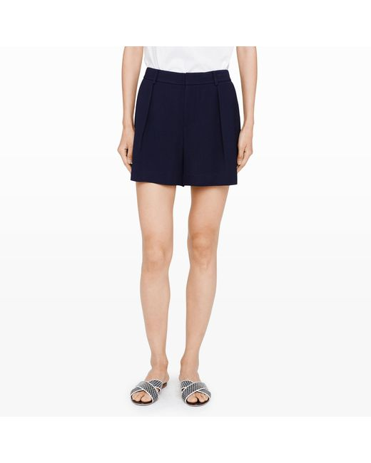 Club Monaco | Blue Seena Shorts | Lyst