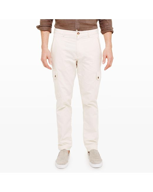 Club Monaco | Natural Utility Cargo Pant for Men | Lyst