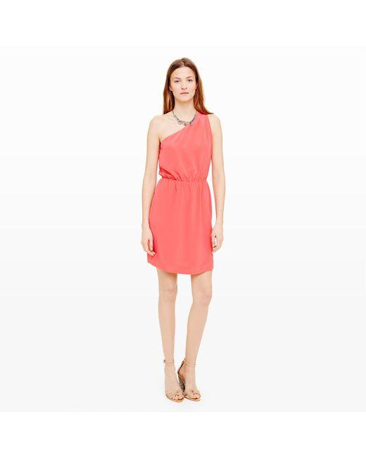Club Monaco | Pink Logan Silk Dress | Lyst