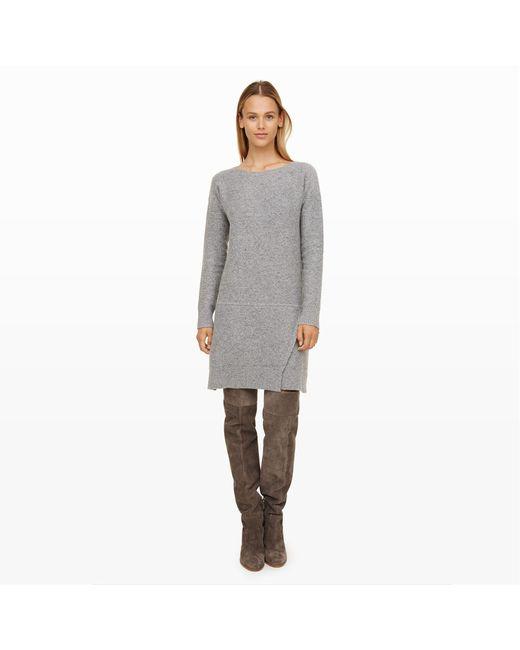 Club Monaco | Gray Jozie Sweater Dress | Lyst