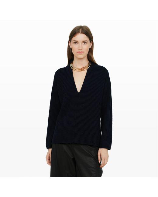 Club Monaco | Blue Zuri Cashmere Sweater | Lyst