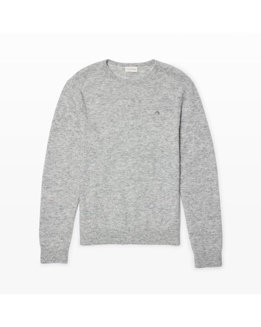 Club Monaco | Gray Hidden Pocket Crew for Men | Lyst